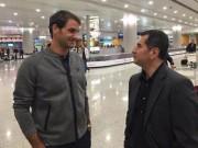 """Thể thao - Tới Thượng Hải bảo vệ """"ngôi báu"""", Federer khoe đầu mới"""