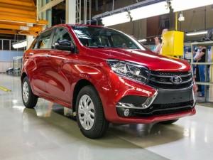 Ô tô - Xe máy - Xe Nga Lada XRAY giá 177 triệu đồng rục rịch ra mắt