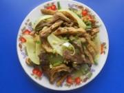 Ẩm thực - Lòng bò xào chua ngọt xứ Quảng
