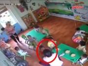 Video An ninh - Lại một bé 17 tháng tuổi bị bảo mẫu đánh đập ở Hà Nội