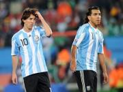 Các giải bóng đá khác - Paraguay – Argentina: Đến lượt Tevez cầm trịch