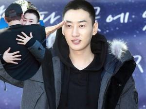 Chàng trai dí dỏm nhất nhóm Super Junior nhập ngũ
