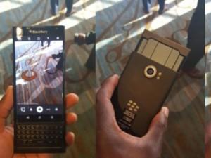 Trên tay BlackBerry Priv bị rò rỉ