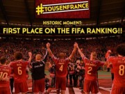 Bóng đá - Bỉ vượt mặt Argentina, Đức lên số 1 thế giới