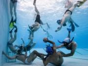 Thể thao - Rugby dưới nước: Đối kháng thú vị như đàn cá