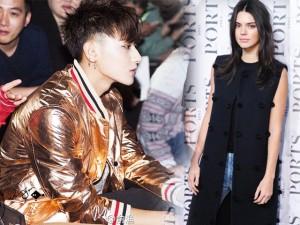 Kendall và Tao (EXO) thu hút ở tuần lễ Thượng Hải