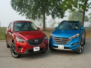 Hyundai Tucson và Mazda CX-5 2016: Ai đo ván ai?
