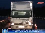 Video An ninh - Tránh xe cứu thương, xe tải tông liên hoàn