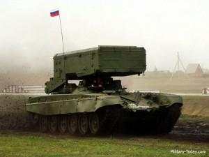 """Tin tức trong ngày - Pháo phản lực TOS-1A – """"Kẻ hủy diệt"""" đến từ Moscow"""
