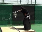 Thể thao - Kiếm sỹ Samurai chém trúng mục tiêu trong 0,4 giây