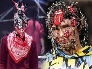 Thời trang - Người mẫu gắn kín kim băng vào mặt lên sàn diễn Tokyo