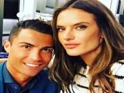 Bóng đá - SAO 360 độ: Ronaldo thân mật bên siêu mẫu đình đám