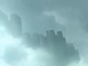 Clip: Thành phố nổi bí ẩn trên bầu trời Trung Quốc