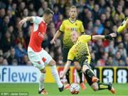 Bóng đá - Watford - Arsenal: Sụp đổ trong 5 phút
