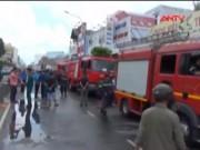 Bản tin 113 - Cháy quán hủ tiếu: Xót xa người mẹ chết trong tư thế ôm con