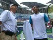 Thể thao - Tennis 24/7: Kyrgios suýt đánh bóng trúng trọng tài biên