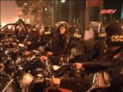 """Video An ninh - Hà Nội: 200 CSCĐ """"xuống đường"""" chống ùn tắc"""