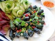 Ẩm thực - Thịt heo nướng lá lốt thơm lừng cả bếp
