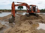 An ninh Xã hội - Khai khác cát, cạp trúng xác người