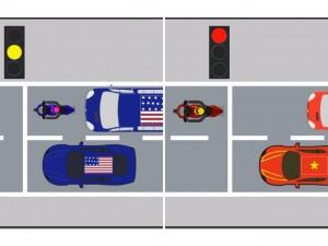 Clip: So sánh giao thông Việt Nam  & amp; Mỹ (P.1)