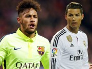 Bóng đá - Tin HOT tối 20/10: CR7 vượt Neymar trên Instagram