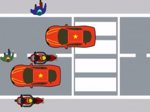 Clip: So sánh giao thông Việt Nam & Mỹ (P.3)