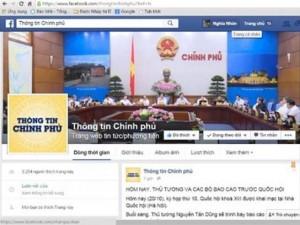 Tin tức trong ngày - Chính phủ muốn phủ sóng thông tin trên Facebook