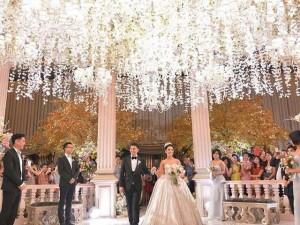Đám cưới sao Indonesia xa hoa không kém Huỳnh Hiểu Minh