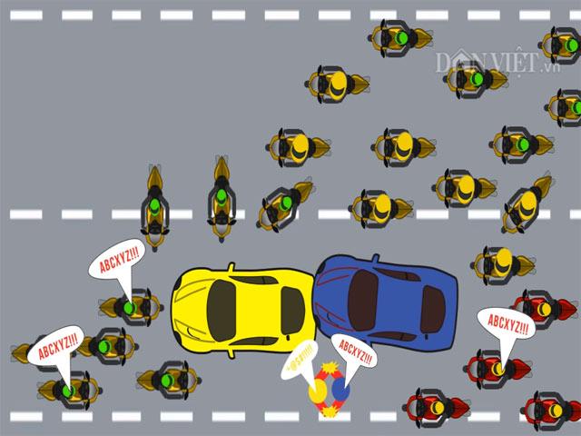[Video] Thói xấu của người Việt khi tham gia giao thông (P.2)