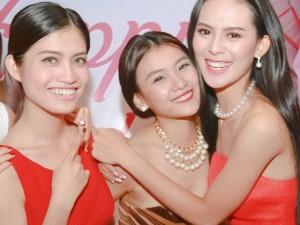 Dàn thí sinh Hoa hậu Hoàn vũ xinh đẹp ngày hội ngộ
