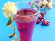 Ẩm thực - Cách ngâm hoa atiso đỏ làm nước uống