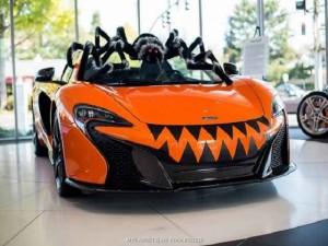 """Xe xịn - Siêu xe McLaren 650S Spider """"hóa nhện khổng lồ"""""""