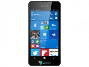 Điện thoại giá rẻ Microsoft Lumia 650 lộ ảnh