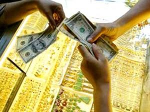"""Tài chính - Bất động sản - Giá vàng, USD còn """"lình xình"""""""