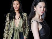 Thời trang - Siêu mẫu giàu nhất châu Á không nội y trên thảm đỏ