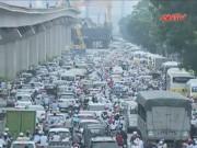 Video An ninh - Phó Thủ tướng yêu cầu khắc phục ùn tắc ở HN và TP.HCM