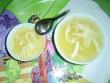 Thơm mát chè đậu xanh nước dừa xiêm Bến Tre