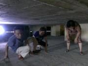 Tin tức trong ngày - Hà Nội: Đi thang máy... phải bò
