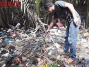 An ninh Xã hội - Trần tình của bà mẹ đốt xác con sơ sinh ở bãi rác