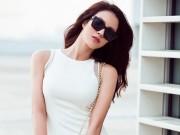 Người mẫu - Hoa hậu - Mặc màu trắng vẫn nổi bật như Diệp Lâm Anh
