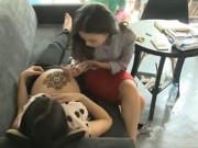 Bạn trẻ - Cuộc sống - Nở rộ trào lưu trang trí cơ thể với hình xăm Henna