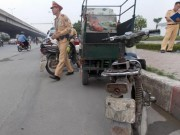 Tin tức trong ngày - Hà Nội thu giữ hàng loạt xe máy cũ nát chạy trên đường