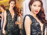 Thời trang - Váy hot nhất tuần: Đầm khoét sâu của Diễm My 9x