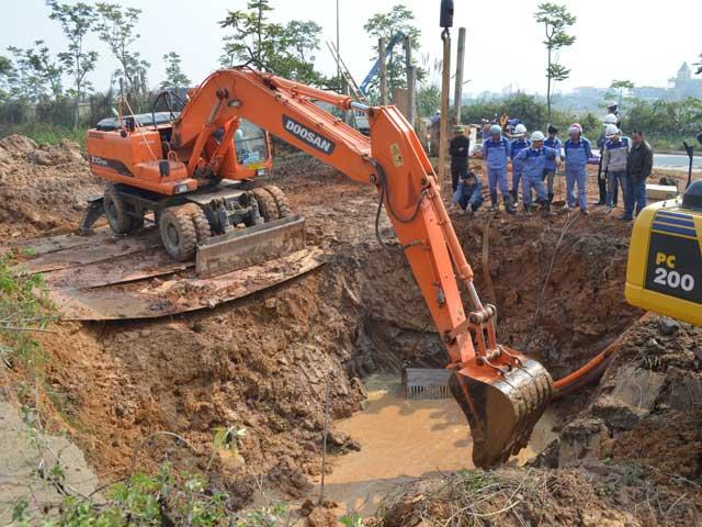 """Tin tức trong ngày - HN xây nhà máy nước mới """"gánh đỡ"""" đường ống Sông Đà"""