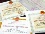 An ninh Xã hội - Giả danh bộ đội để nhận huân chương, trợ cấp