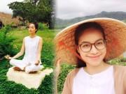 Thời trang - Phạm Hương tìm bình yên trên núi hậu đăng quang