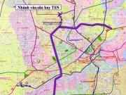 Tin tức trong ngày - TP.HCM: Hơn 99.700 tỉ đồng làm tuyến metro số 5