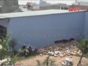 Video An ninh - TP.HCM: Sập nhà xưởng, 4 nữ công nhân thương vong