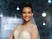 Thời trang - Trương Thị May diện váy cưới phủ pha lê 1.300USD