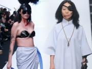 Thời trang - Váy áo kinh dị lên sàn diễn trước lễ hội ma quỷ